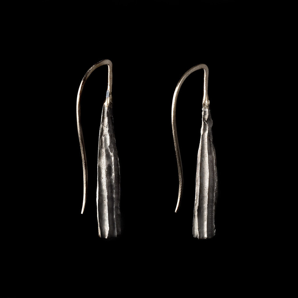 Stefano Zanini earrings made of silver and gold