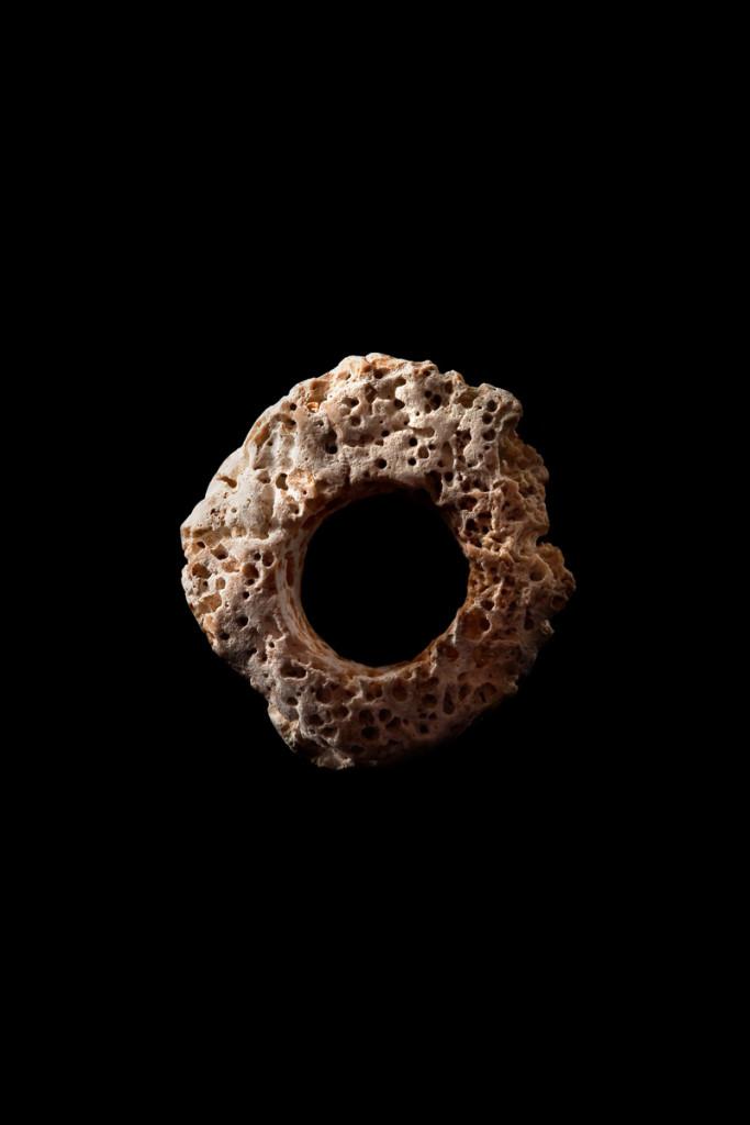Stefano Zanini ring made from limestone