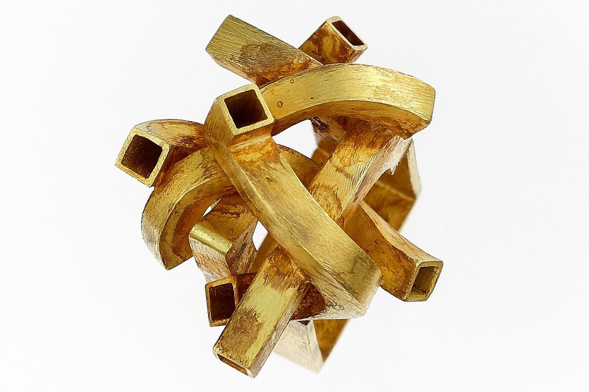 Stefano Zanini ring made of gold